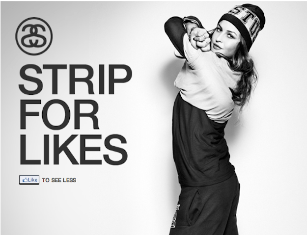Facebook Stussy Campaign