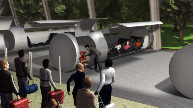 Evacuated Tube Transport concept