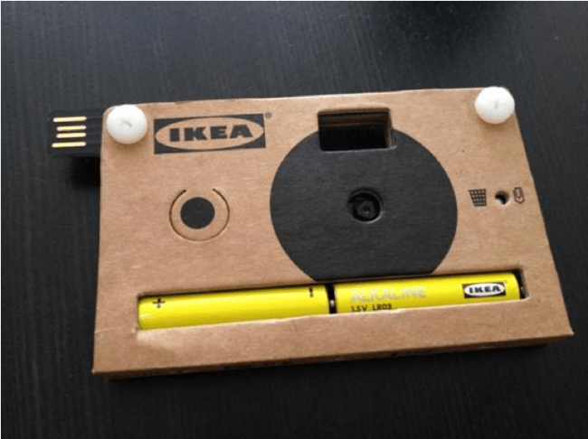 IKEA Disposable Camera