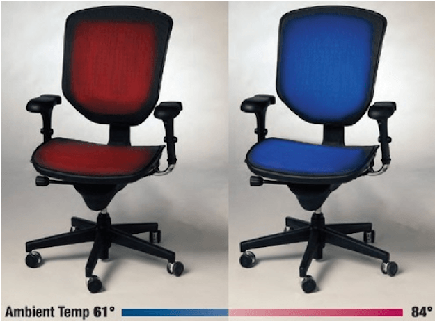 Tempronics Cooler Heater Chair