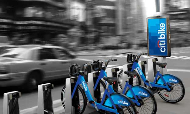 CitiBikes New York City bike sharing