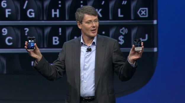 BlackBerry 10 Z10 and Q10 unveiled