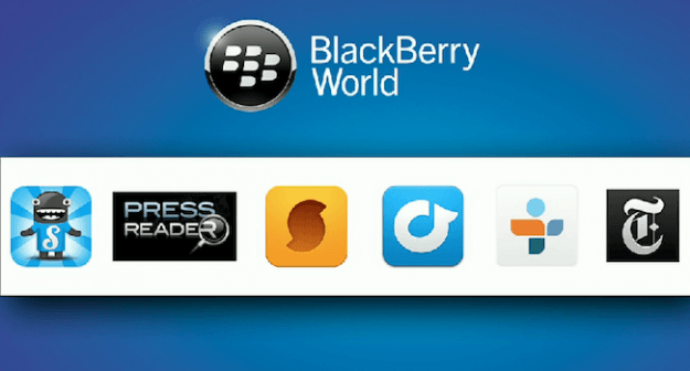 BlackBerry World app store