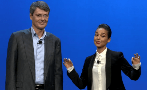 BlackBerry 10 - Thorsten Heins and Alicia Keys