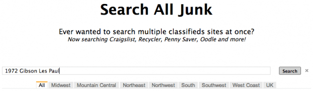 Search all Junk screenshot