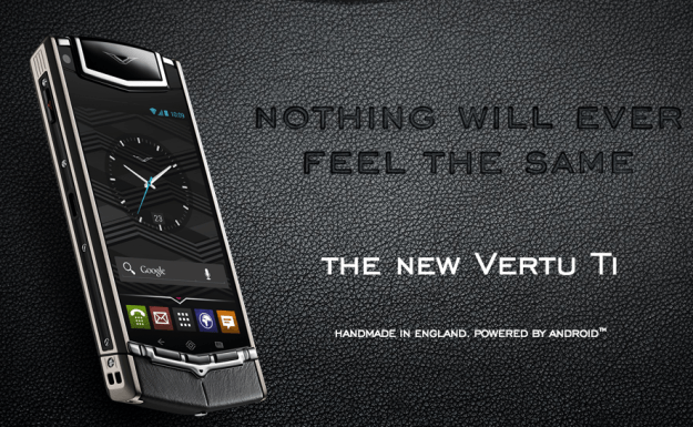 Vertu TI - The new Vertu