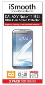 Best Galaxy Note 2 Screen Protectors: iSmooth Ultra Clear
