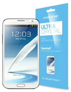 Best Galaxy Note 2 Screen Protectors: Spigen Ultra Crystal