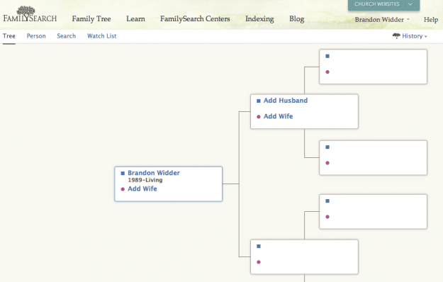 Family Search Ancestry