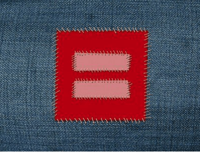 red equal signs take over facebook the birth of a marriage equality meme screen shot  at pm