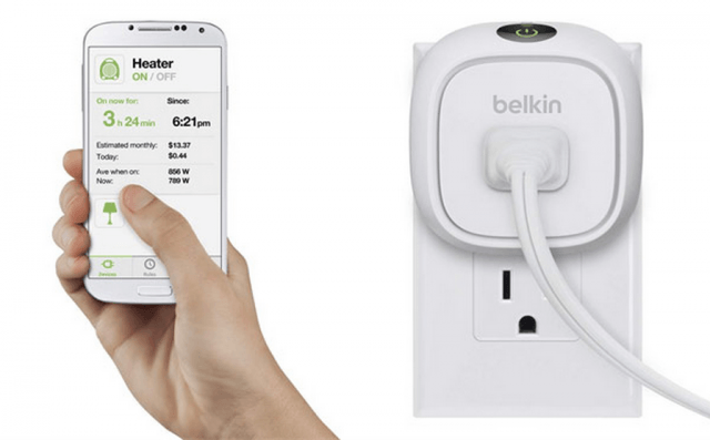 belkins latest wemo switch tracks energy usage screen shot  at am