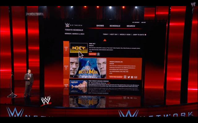 wwe lays smackdown ces announces subscription based network screen shot  at pm