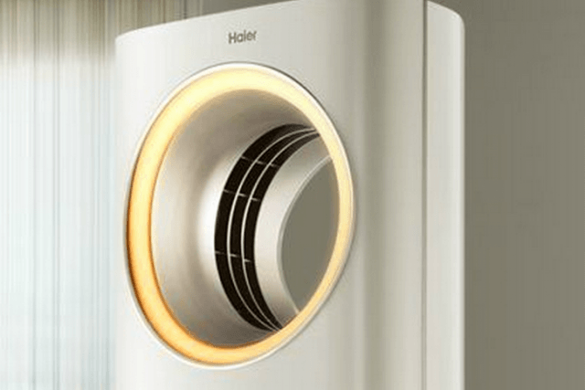 haiers futuristic new ac unit first home appliance apple certified screen shot  at pm