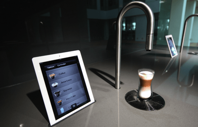 topbrewer ultra minimalist coffee tap screen shot  at am