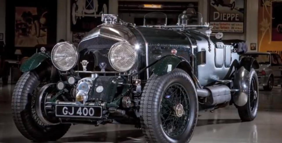 Jay Leno's 27-liter 1930 Bentley