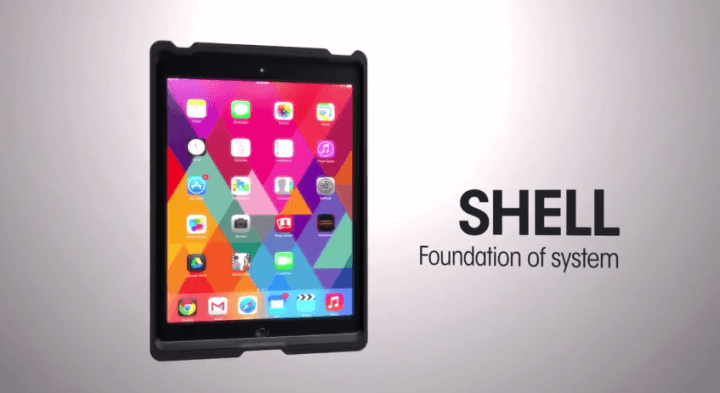otterbox shows new agility series tablet cases mounts folios ce week shell