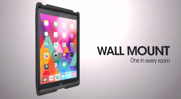 otterbox shows new agility series tablet cases mounts folios ce week wall mount