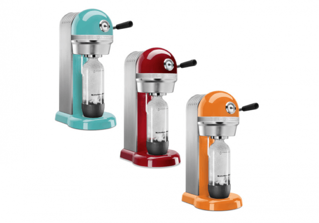 sodastream unveils new line metal retro inspired carbonation machines screen shot  at pm