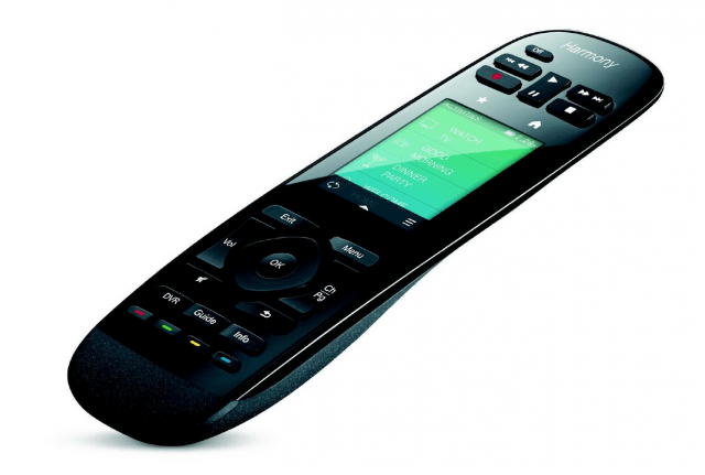 control entire smart home logitechs powerful new harmony remotes screen shot  at pm
