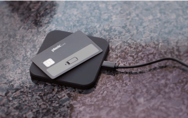 Plastc card charger
