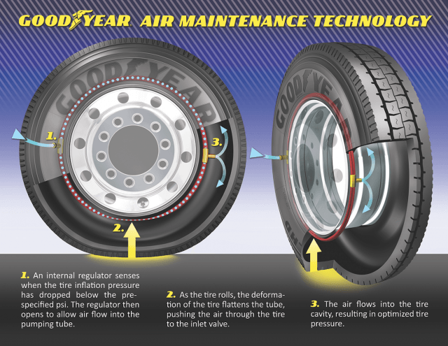 Goodyear AMT Tire Graphic