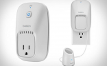 If you want the ability to control your outlets, Belkin WeMo plugs make it easy to regulate your power usage and turn stuff off automatically when you leave the house.