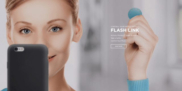 misfit flash link smart button wearable screen shot  at pm