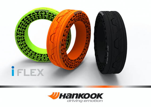 hankook airless tires will never go flat screen shot  at pm