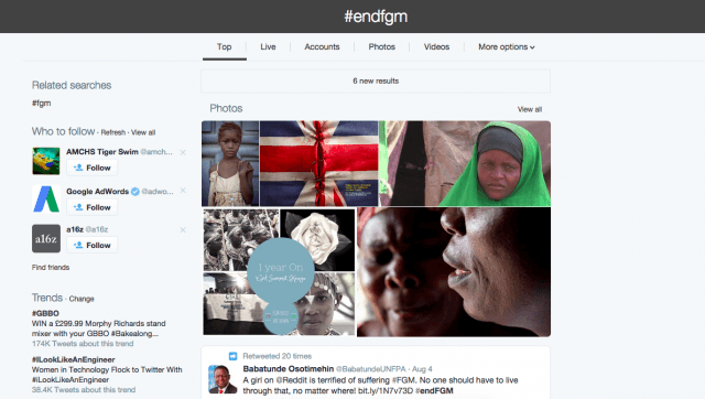 endfgm trending on twitter screen shot  at pm
