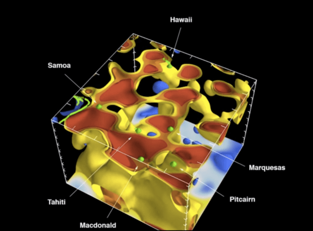 d ct scan of earth shows origins volcanoes screen shot at am