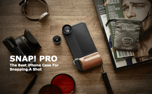 snap pro turns the amateur iphone photographer into a screen shot  at am