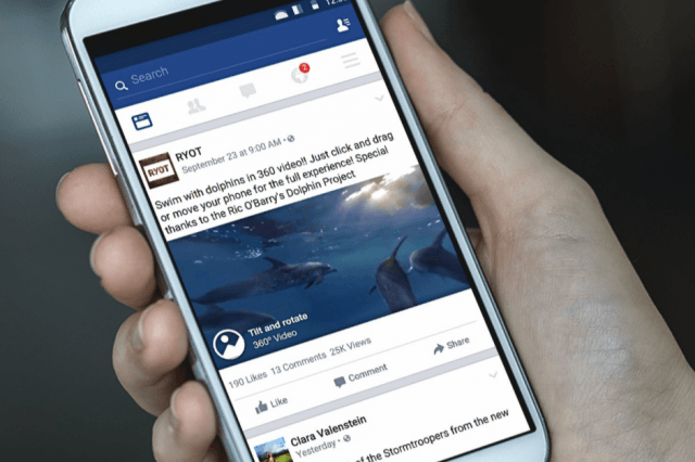 facebook enables  degree video for ios and gear vr screen shot at pm copy