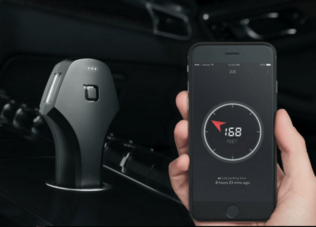 zus smart car charger screen shot  at am