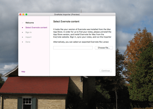 microsoft releases onenote importer mac evernote screen shot  at am