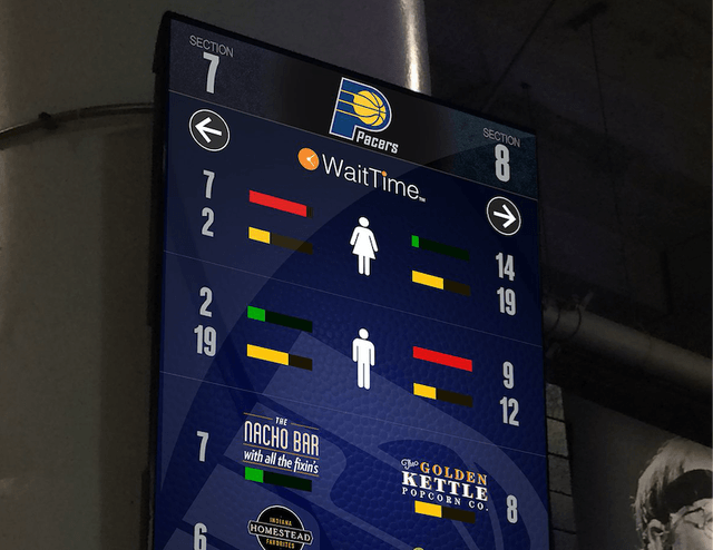 pacers waittime concessions ai screen shot  at am