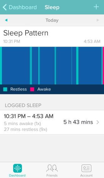 fitbit one review screen  x
