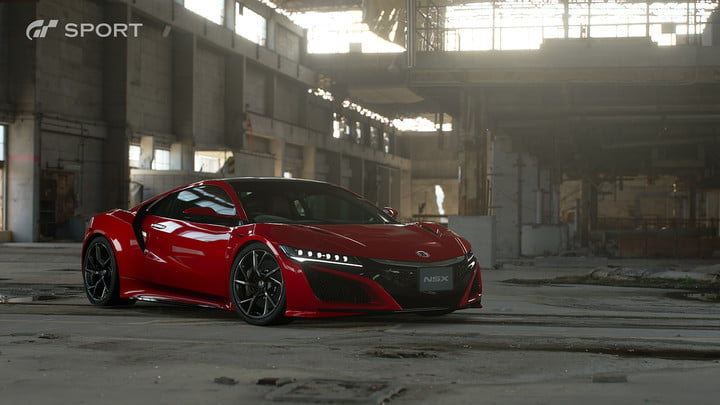 how gran turismo sport makes cars look awesome with hdr screen gts honda nsx