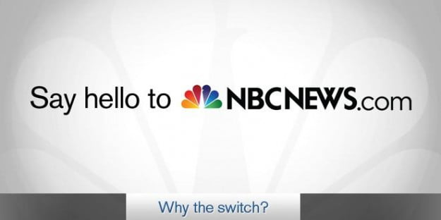 MSNBC.com becomes NBCNews.com as Microsoft calls it quits