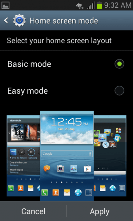 samsung galaxy express review screenshot