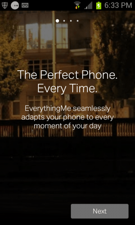 everythingme review screenshot