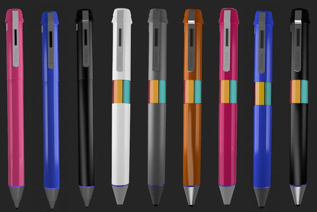 scribble stylus pen reproduces any color colors
