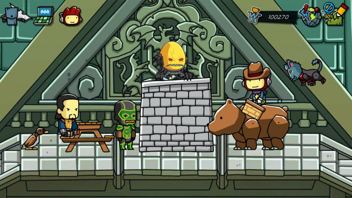 scribblenauts unmasked a dc comics adventure review screenshot