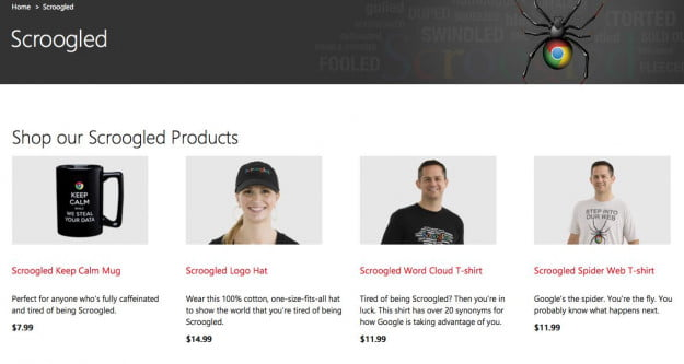 scroogled store from microsoft