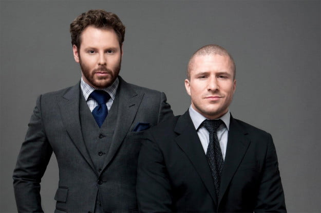 Sean Fanning and Sean Parker