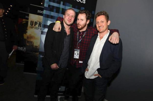 Alex Winter, Sean Fanning, Sean Parker