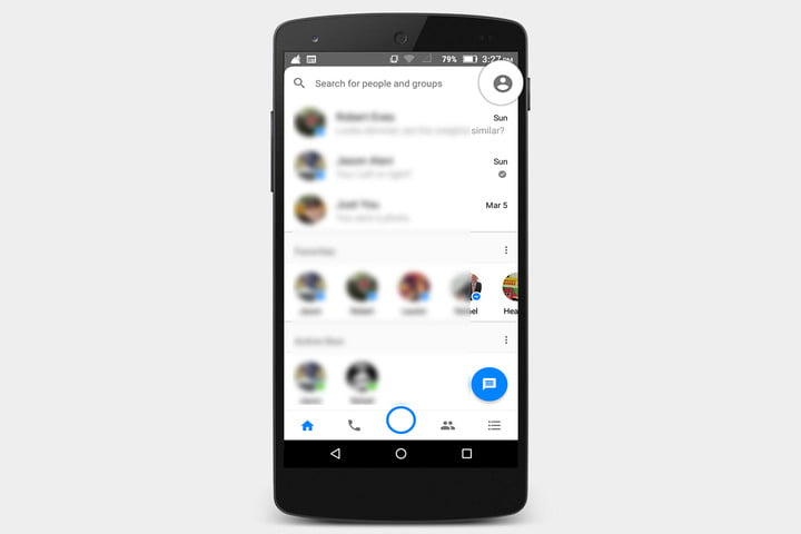 how to delete messenger conversations ios