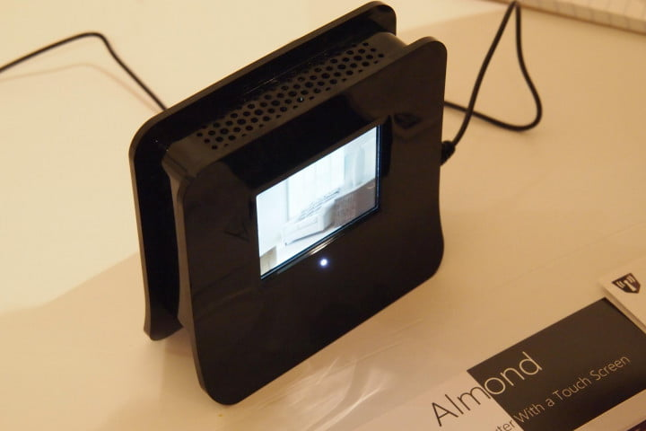 previewing almond the touchscreen wireless router securifi side
