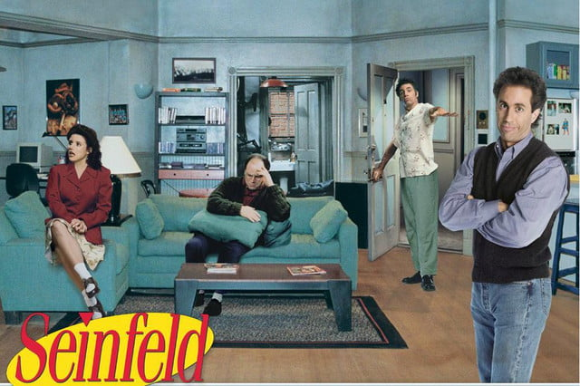 hulu is recreating jerrys apartment from seinfeld dvd box cover