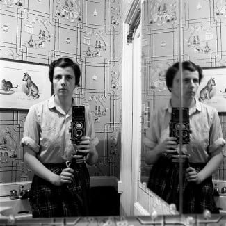 Untitled, Self-Portrait (Maloof Collection)