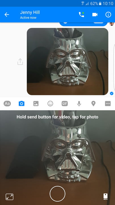 facebook messenger tips and tricks send photo